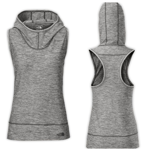 The North Face Tops - THE NORTH FACE MOTIVATION SLEEVELESS HOODIE